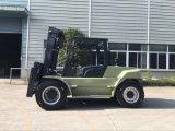 Chariot élévateur lourd du diesel 10.0t de la capacité 10000kg de série de l'ONU U