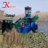 Récolteuse de mauvaises herbes aquatiques automatique et d'eau de l'herbe pour la vente de coupe