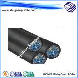 Starke Isolierung des Stahldraht-Armored/PVC und Hülle/Kohlenkabel