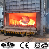 Tipo fornace a temperatura elevata del carrello di trattamento termico di invecchiamento del gas della fornace