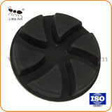 Utilisé à sec 3 pouces de sol en béton de diamant de 80 mm Tampon à polir