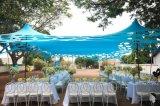 Tenda di stirata dei 2017 fori per la festa nuziale della spiaggia