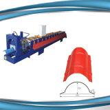 Tipo coloreado del azulejo y rodillo de acero de acero del nuevo de la condición calibrador de la luz que forma la máquina