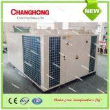 Bomba empacotada refrigerar e de calor do condicionador de ar do telhado da fonte de ar do inversor da C.C.