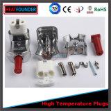 Enchufe de cerámica de alta temperatura del control de la temperatura del enchufe del enchufe del calentador de venda