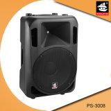 Altofalante passivo plástico portátil mínimo PS-3008 de um karaoke de 8 polegadas
