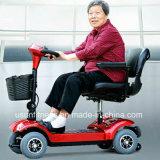 Motorino a 4 ruote elettrico pieghevole di mobilità