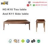 Sofá de madera moderno del salón de la tela del estilo chino para los muebles de la sala de estar (HC-K30)