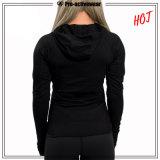 Женщин пользовательские спортивной одежды высокого качества оптовых Sweatshirt спортзал Hoodies толщиной