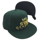 熱い販売のBalckの王冠の金のロゴの野球帽