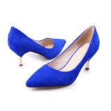 Европейский Vintage Stiletto указал Toe Sexy элегантный Ol женская обувь