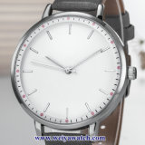 Custom Senhoras Couro Relógios sabia de quartzo, Mulher vigilância liga (WY-17043)