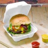 9x6 дюймов 100% биоразлагаемой упаковке продуктов питания