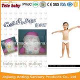 Couche-culotte choyante remplaçable de bébé de Panty de bébé de couche-culotte d'absorption élevée d'OEM