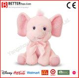En71 견면 벨벳 박제 동물 남자 아기 아이를 위한 연약한 코끼리 장난감