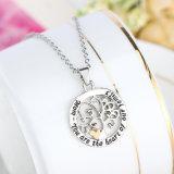 Hete Boom 925 van het Hart van de Moeder van de Stamboom van de Verkoop de Zilveren Echte Juwelen van de Halsband van de Manier (543051534344)