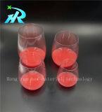 vidrio de vino plástico de la taza del vino de 18oz Tritan