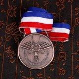 Progettare la medaglia per il cliente antica dell'oro 3D della lega