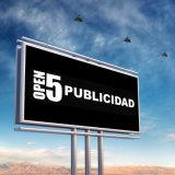2017 La autopista de doble cara exterior de anuncio de la ciudad de acero barato cartelera