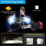 LED 헤드라이트 전구 H11 H7 H4 의 35W 12volt 자동 차 LED 헤드라이트 전구가 최고 밝은 V6 차에 의하여 점화한다