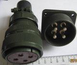Winkliger Feld-Netzstecker des Stecker-Ms3108b32-17s