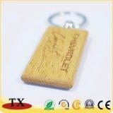 En forma de corazón personalizados Llavero de madera Madera Engravable Llavero