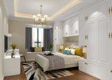 Garde-robe en bois moderne de chambre à coucher de modèle bon marché de Kd de prix usine