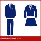 Uniformes occasionnels faits sur commande de blazer d'école pour l'élève d'école primaire (U15)