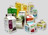 Конструкция коробки молока, коробка изготовленный на заказ коробки молока упаковывая бумажная
