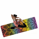 Colorida Mandala Lotus Non-Slip Estera Del Yoga impresión personalizada