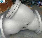 DIN ANSI стальной фильтр клапана Y сетчатый фильтр с экрана из нержавеющей стали и проволочной сеткой