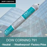 Uma do Dow Corning 791 da cura do vedador porção do branco neutro do selo