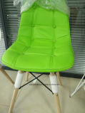 Bouton moderne Eames Chaise Vert