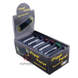 Cr150 cinco prensa de batir del tabaquismo del tabaco del plástico de los colores 70m m
