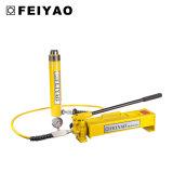 鋼鉄物質的な手動の高圧油圧ポンプ