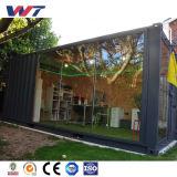 Дом контейнера стального листа сваренная Prefab
