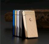 Windproof Arc briquet électronique accepter un logo personnalisé avec Forfait boîte cadeau