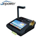 Terminal androide de la posición de Jepower/terminal androide Jp762A de la posición con el programa de lectura de WiFi/Bluetooth/3G/NFC/RFID
