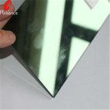 6mmの深緑色の反射ガラス反射