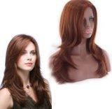 Parrucca sintetica fatta a macchina dei capelli per le donne europee