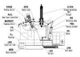 Pgz1500 vertical automatique Centrifugeuse de décharge de fond sur les produits chimiques