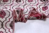 2017 nette Blumen-Jacquardwebstuhl-Sofa-Gewebe-Polsterung durch 360 G/M