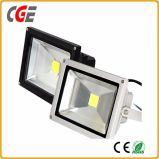 luz al aire libre de las iluminaciones del jardín de la luz de inundación de 100W RGB LED 10W 20W AC85-265V