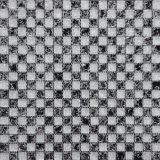 أبيض أسود فسيفساء فندق غرفة حمّام [موسيك تيل], [موسيك تيل] زجاجيّة