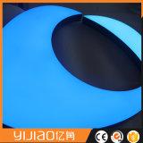 2017 visualización de acrílico de la carta de la venta caliente LED