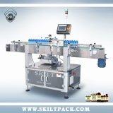 Plein de bidons d'étiquetage automatique de la poudre de protéine de machines
