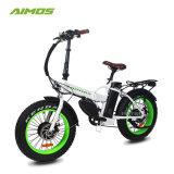 [أيموس] بالجملة يطوى يطوي ثلج درّاجة كهربائيّة لأنّ شاطئ طرّاد