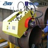 """6 """" - 72 """"のためのOd取付けられた携帯用油圧旅行カッターの上昇の管の切断そして斜角が付く機械(153mm-1829mm)"""