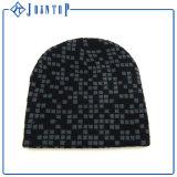 Gorrita tejida de encargo cómoda de la venta caliente con la impresión modificada para requisitos particulares