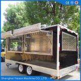 De mobiele Elektrische Aanhangwagen van de Kar van het Voedsel/de Mobiele Apparatuur van de Catering van de Caravan van het Restaurant